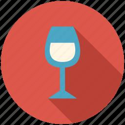 dinner, glass, kitchen, vine icon