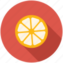 fruit, kitchen, lemon icon