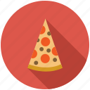 dinner, eating, food, kitchen, pizza icon