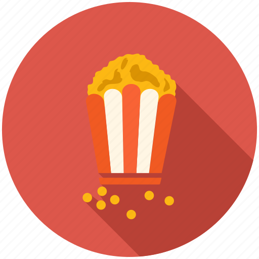 dinner, eating, food, kitchen, popcorn icon