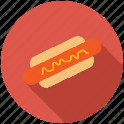 dinner, eating, food, kitchen, sausage icon