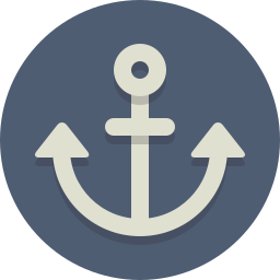 anchor, nautical icon