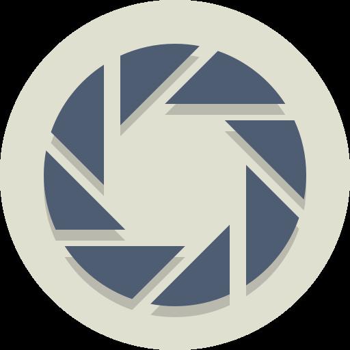 aperture, shutter icon