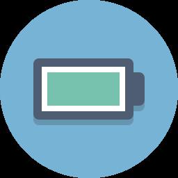 battery, full battery icon