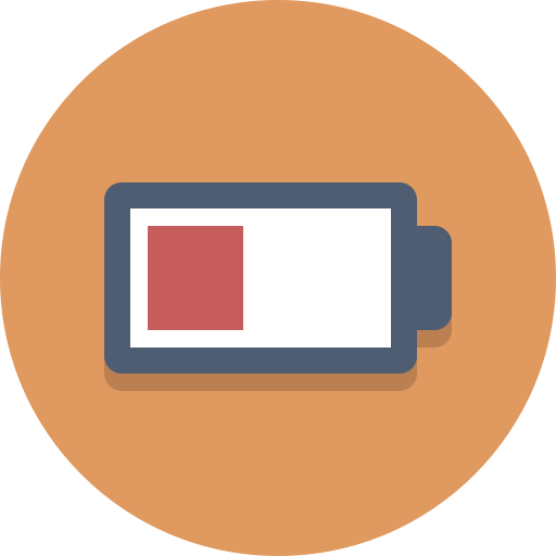 battery, low battery icon