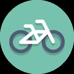 bicycle, bike icon