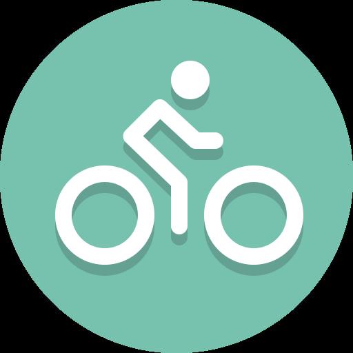 bicycle, bike, biker icon