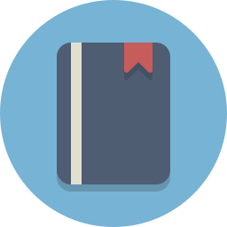 book, booklet, bookmark icon