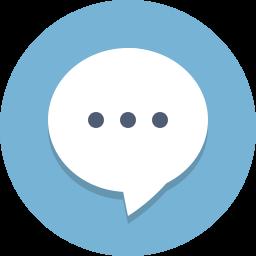 bubble, chat, communication, message icon