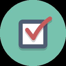 check, select icon