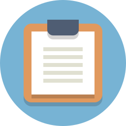 clipboard, document icon