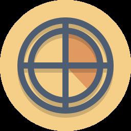 bullseye, radar, target icon