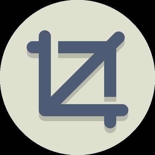crop, frame icon