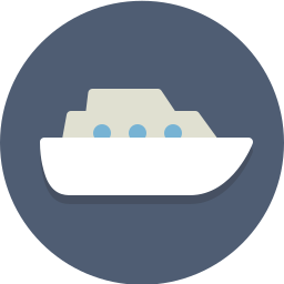 cruise, ship, transportation, vessel icon
