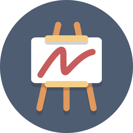 Easel, art, chart, presentation icon - Free download