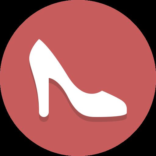 heel, high heel, shoe icon