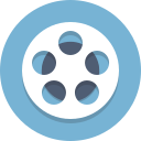 film, film reel, movie, reel icon