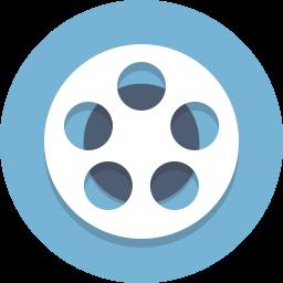 film, film reel, movie, reel icon