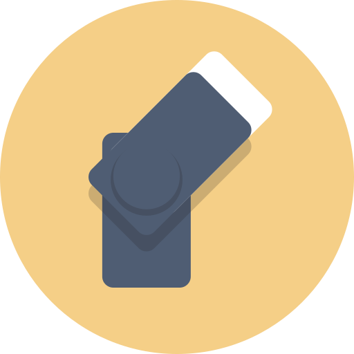 flash, thumb drive icon