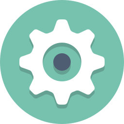 configuration, gear, preferences, settings icon