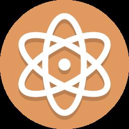 atom, molecule icon