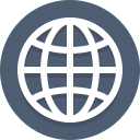 global, globe, network, planet icon