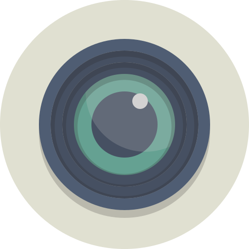 camera, lens, photography icon