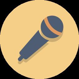 audio, mic, microphone icon