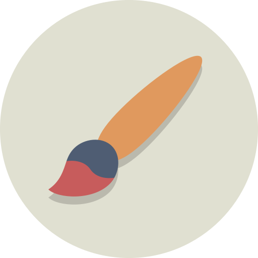 Brush, paint, paint brush icon - Free download on Iconfinder