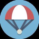 parachute, skydiving