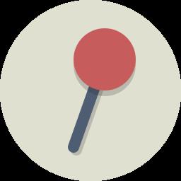 pin, tag icon