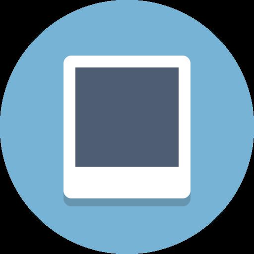 photo, picture, polaroid icon
