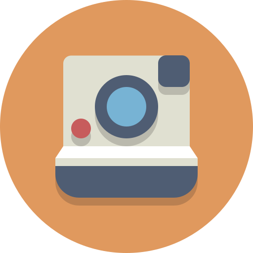 cameera, polaroid icon