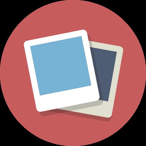 photographs, picture, pictures, polaroids icon