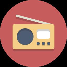 audio, radio icon