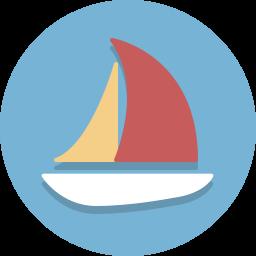 boat, sailboat, ship, vessel icon