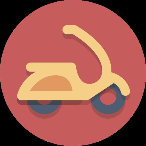 motorscooter, scooter, transportation, vespa icon