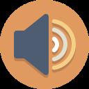 speaker, volume, audio