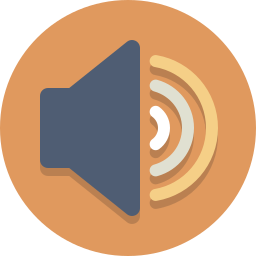 audio, speaker, volume icon