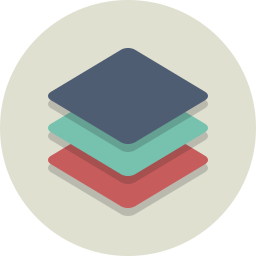 layers, stack icon