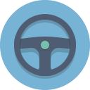 steering wheel icon