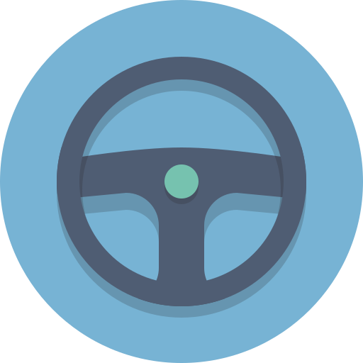 Steering wheel icon png - photo#17