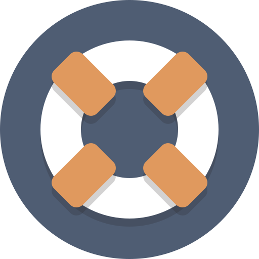 life preserver, support icon