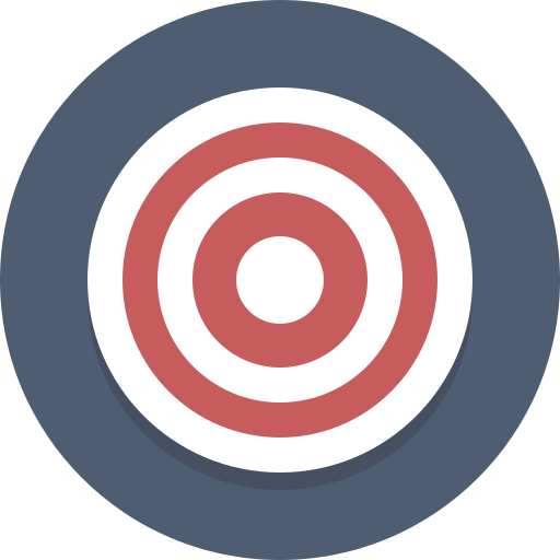 bullseye, target icon