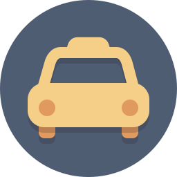 taxi, transit, transportation icon