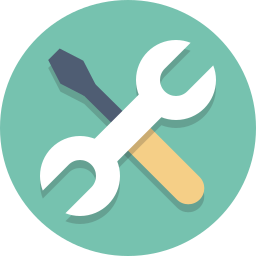 screwdriver, tools, wrench icon