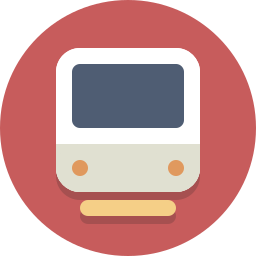 locomotive, subway, train, transit, transportation icon