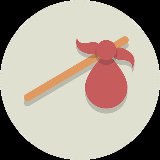 hobo stick, traveler icon
