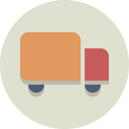 delivery, shipping, transportation, truck icon
