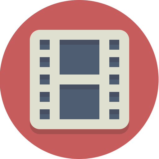 film, movie, video icon